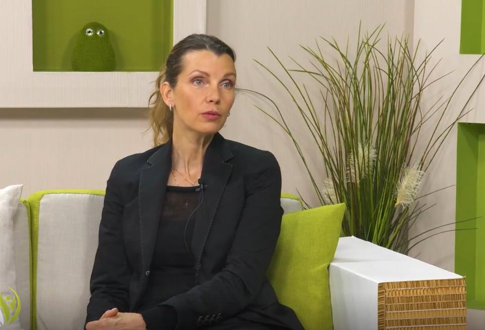 Мина Енева в Code Health TV